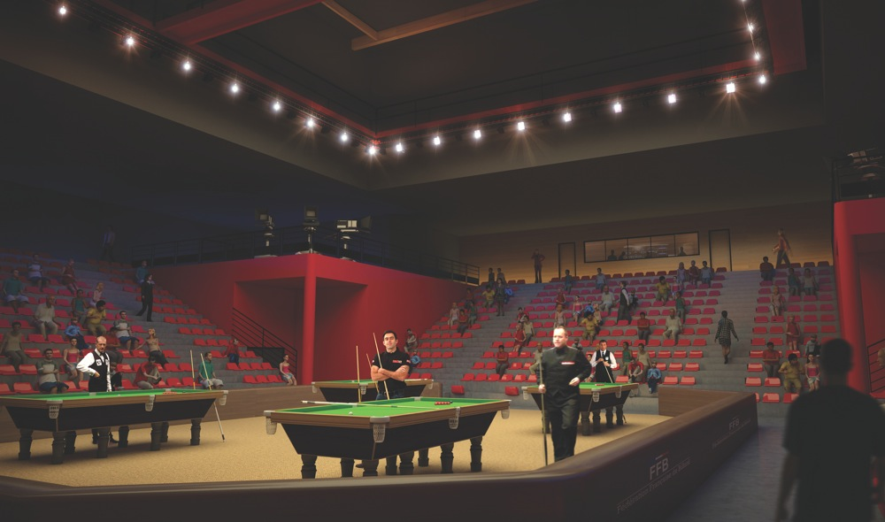 Sports Center for the French National Bowling, Billards & Squash Federations
