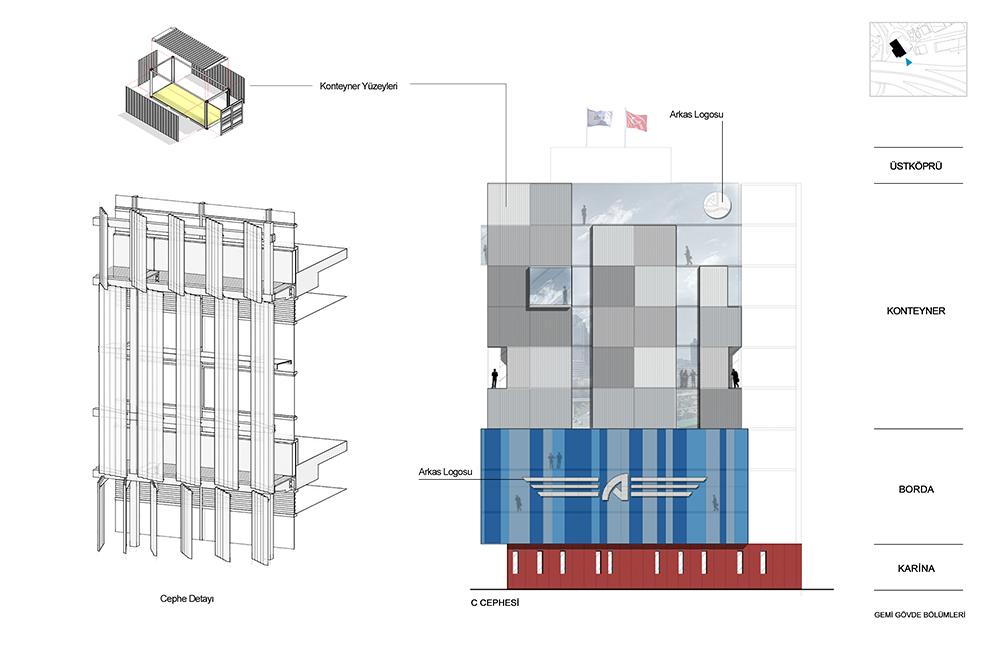 Mecidiyekoy 'Office'_Exterior Concept Design