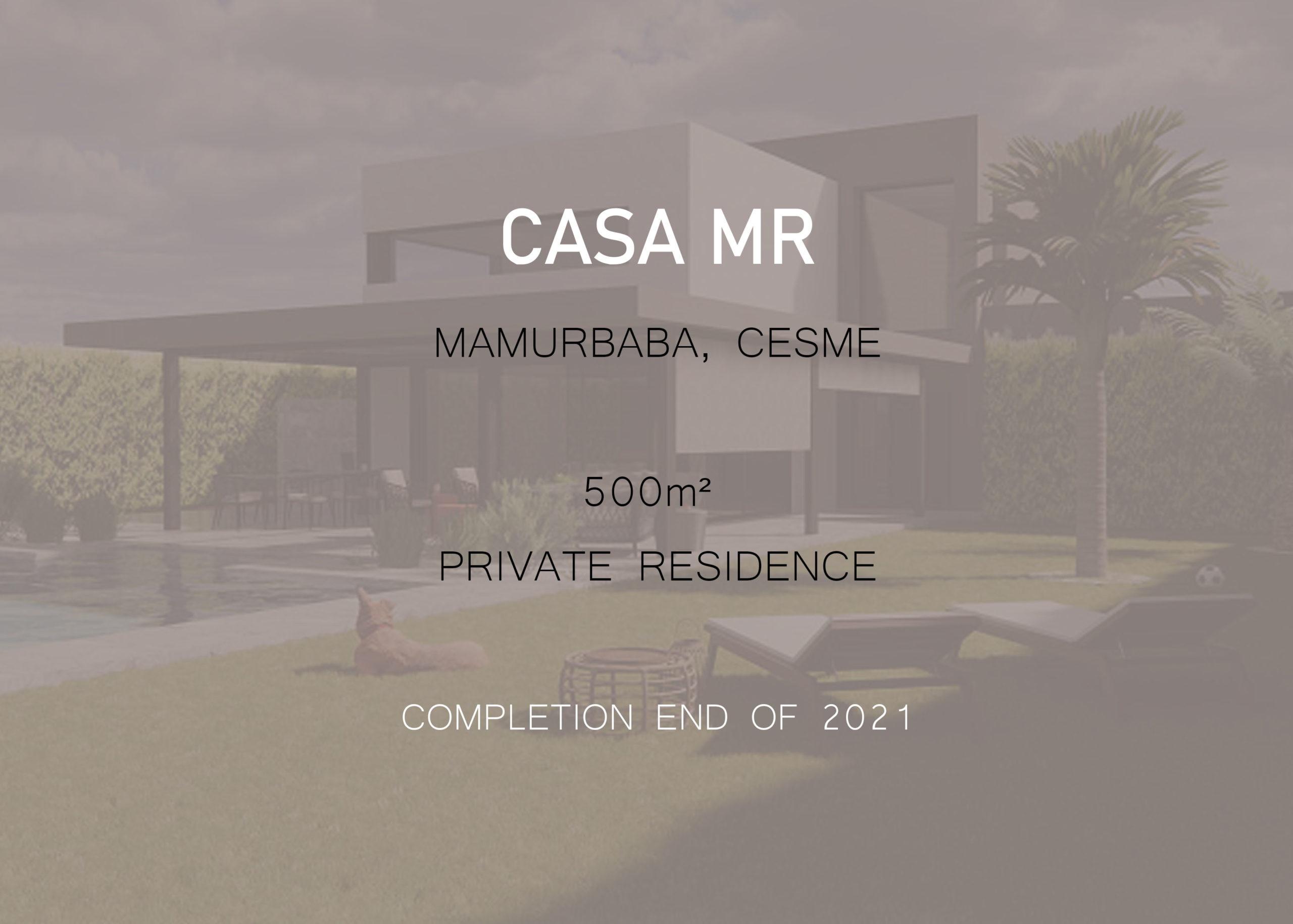 CASA MR – Mamurbaba, Cesme